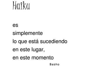 haiku, significados, and palabras image