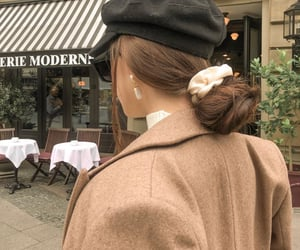fashion, hairstyle, and outfit image