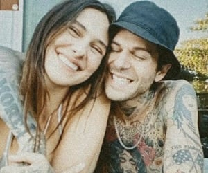 couple, jesse rutherford, and thenbhd image