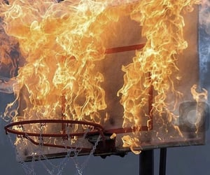 archive, Basketball, and fire image