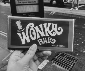 black and white, london, and candy image