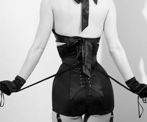 bdsm, black, and domination image