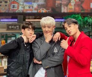 exo, kim jongin, and chanyeol image