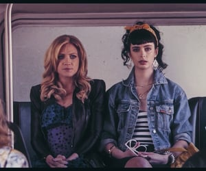 gossip girl, lily van der woodsen, and sisters image