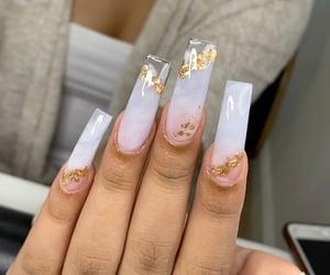 beauty, long nails, and nails image