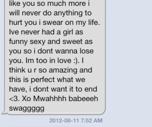 adorable, cute text, and message image