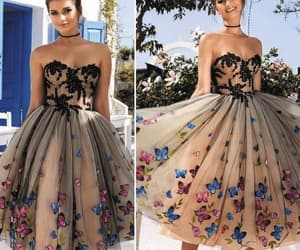 cheap graduation dresses, floral prom dresses, and homecoming dresses short image