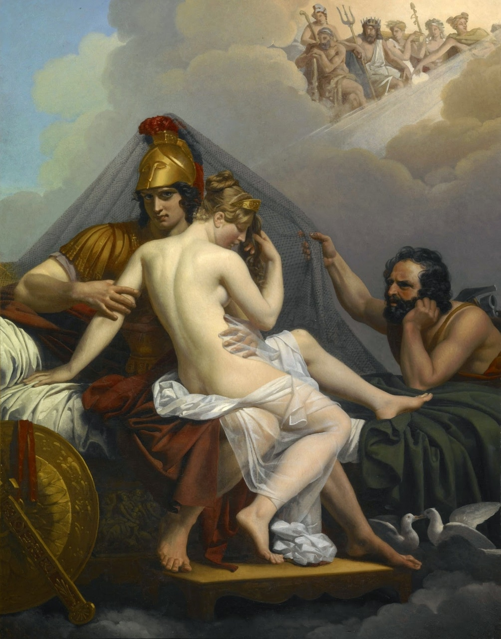 ares, hades, and hipnos image