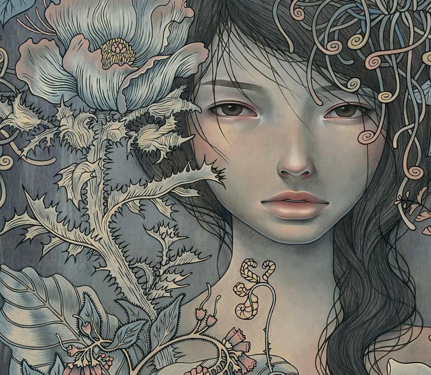 los angeles, audrey kawasaki, and живопись image