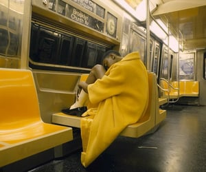 alone, silent, and subway image