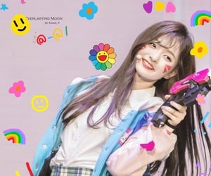 nakyung, fromis_9, and kpop edit soft image