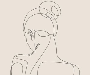 back, outline, and profile image