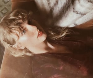 album, folklore, and Taylor Swift image