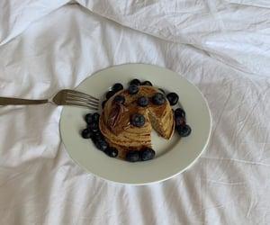 berries, blueberries, and breakfast image