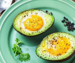 aesthetic, avocado, and fit image