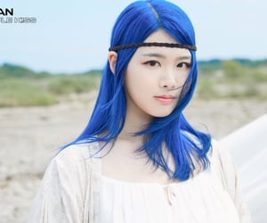 blue, blue hair, and debut image