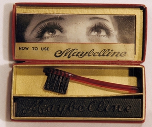 Maybelline, mascara, and vintage image