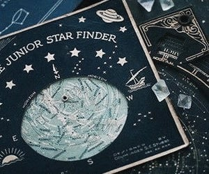 stars, aesthetic, and ravenclaw image