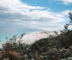 beach, vacances, and bretagne image