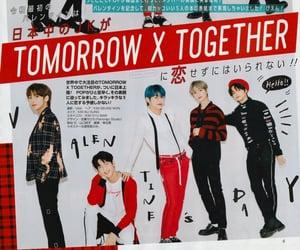 kpop, magazine, and txt image