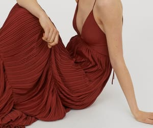 H&M and pleated dress gown image