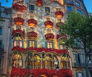 architecture, casa batllo, and building image