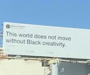 black, creativity, and black pride image