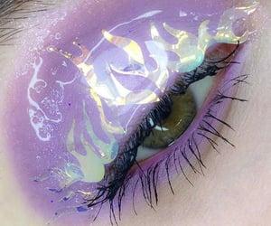 eye and eye makeup image