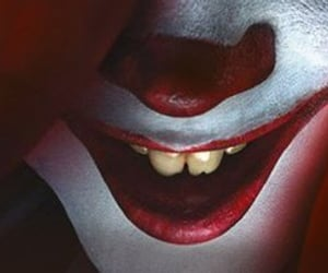 it, stephenking, and clown image