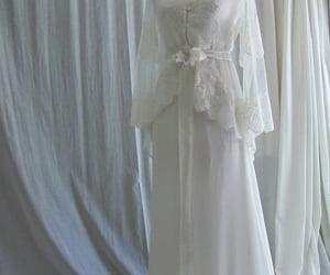 wedding dress, wedding dresses, and wedding gown image