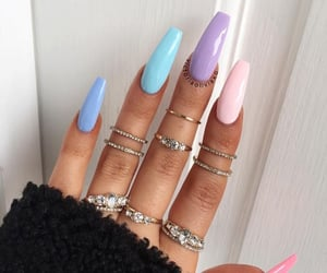 nails, aesthetic, and inspiration image