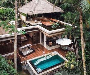 home, pool, and house image