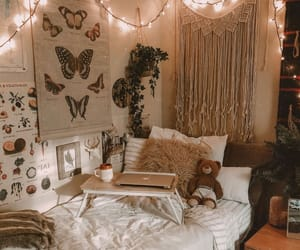 bedroom, aesthetic, and cozy image
