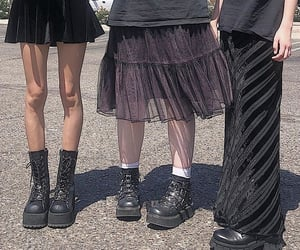 goth, grunge, and aesthetic image