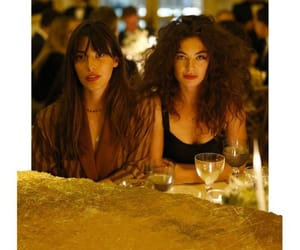 french, girls, and night out image