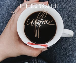 coffee, idea, and instagram image