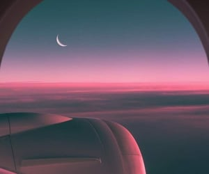 aesthetic, airplane, and airplanes image