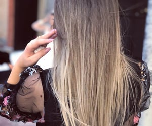colorhair, blonde, and girl image