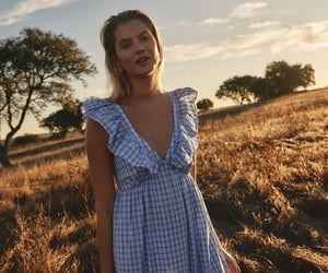 aesthetic, country, and gingham image
