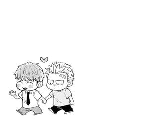 bl, manga, and cute image