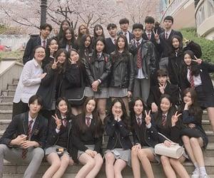 aesthetic, korean girl, and korean boy image