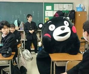 japan, school, and kumamon image