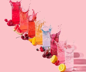 beverages, colors, and drinks image