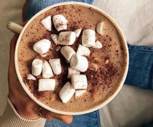 vegan and hot chocolate image