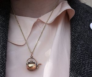 necklace, fashion, and teapot image