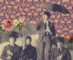 art photography, retro, and the beatles image