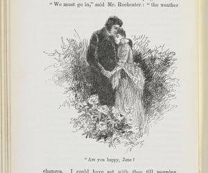 book, jane eyre, and illustration image