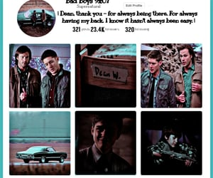 aesthetic, bad boys, and dean winchester image