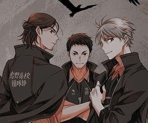anime, karasuno, and daichi image