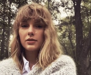 Taylor Swift, cardigan, and folklore image